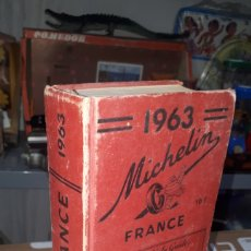 Libros: GUÍA MICHELIN FRANCE 1963. Lote 209913717