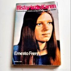 Libros: LIBRO HISTORIA DE KAREN. Lote 209965353
