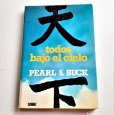 Libros: LIBRO TODOS BAJO EL CIELO. Lote 209965898