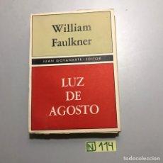 Libros: LUZ DE AGOSTO. Lote 210023482