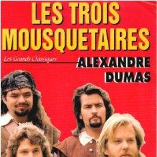 Libros: LES TROIS MOUSQUETAIRES - ALEXANDRE DUMAS. Lote 210299885