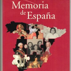 Libros: MEMORIA DE ESPAÑA - FERNANDO GARCÍA DE CORTÁZAR (DIR.). Lote 210299910