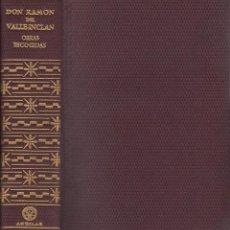 Libros: OBRAS ESCOGIDAS. RAMON VALLE-INCLÁN - VALLE-INCLAN, RAMON. Lote 210565598