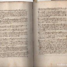 Libros: LIBRO DE REGISTRO DE LOS DECRETOS EMITIDOS POR LOS PAPAS PÍO II Y PABLO II AL REINO DE ARAGÓN - NO C. Lote 210623835