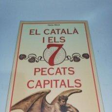Libros: NURIA MIRET, EL CATALÀ I ELS 7 PECATS CAPITALS. Lote 210703985
