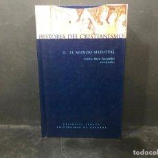 Libros: HISTORIA DEL CRISTIANISMO. II. EL MUNDO MEDIEVAL. - EMILIO MITRE FERNÁNDEZ ( COORDINADOR ).. Lote 210719071