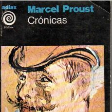 Libros: CRÓNICAS - PROUST, MARCEL. Lote 210767574
