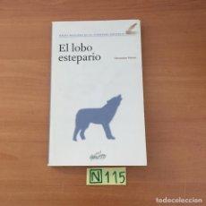 Libros: EL LOBO ESTEPARIO. Lote 210800331