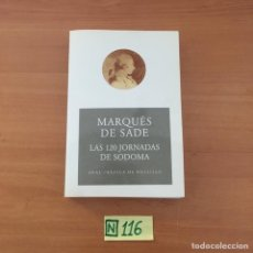 Libros: MARQUÉS DE SADE. Lote 210805576