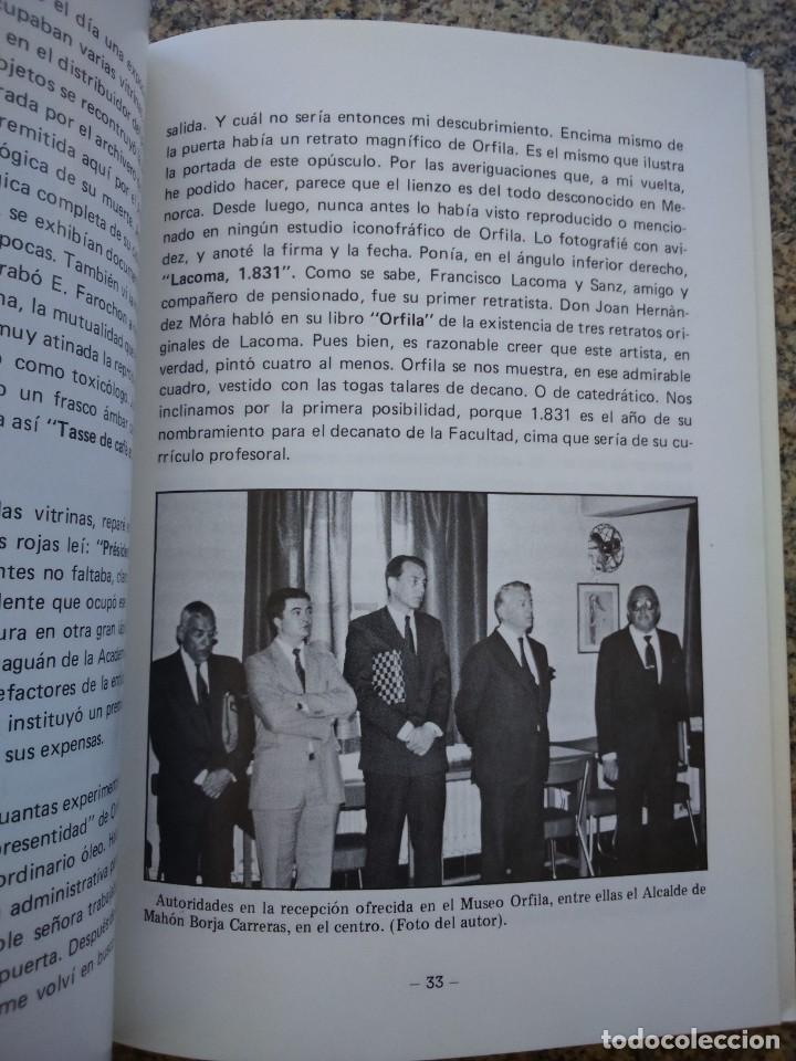 Libros: MATEO ORFILA ROTGER, CRONICA DEL BICENTENARIO -- MIQUEL ANGEL LIMON PONS -- 1987 -- - Foto 3 - 210811654