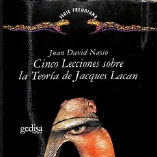 Libros: CINCO LECCIONES SOBRE LA TEORÍA DE JACQUES LACAN. Lote 210839337