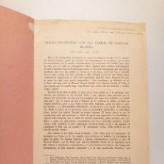 """Libros: BECK, MARY ANN - NUEVO ENCUENTRO CON """"LA FAMILIA DE PASCUAL DUARTE"""". Lote 210852422"""