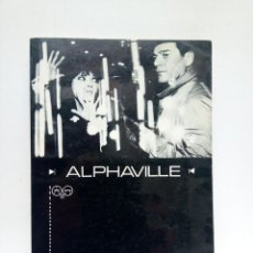 Libros: GODARD, JEAN-LUC - ALPHAVILLE. A FILM BY JEAN-LUC GODARD / ENGLISH TRANSLATION AND DESCRIPTION OF A. Lote 210877635