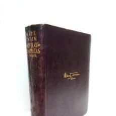"""Libros: MARK TWAIN [SEUD. DE """"SAMUEL LANGHORNE CLEMENS""""] - NOVELAS COMPLETAS Y ENSAYOS / TRADUCCIÓN DEL ING. Lote 210895885"""