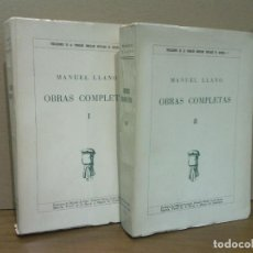Libros: LLANO, MANUEL - OBRAS COMPLETAS / PRÓLOGOS DE MIGUEL DE UNAMUNO, VICTOR DE LA SERNA, LUYS SANTA MAR. Lote 210896322