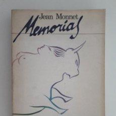 Libros: MEMORIAS. - JEAN MONNET.. Lote 211268817