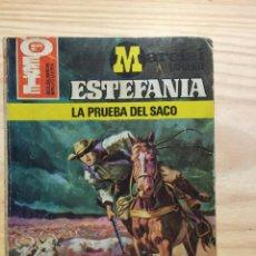Libros: LA PRUEBA DEL SACO - MARCIAL LAFUENTE ESTEFANIA. Lote 211385851
