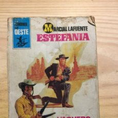 Libros: VAQUERO SIN MONTURA - MARCIAL LAFUENTE ESTEFANIA. Lote 211385880