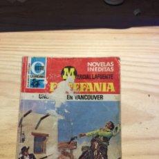 Libros: UNOS DIAS EN VANCOUVER - MARCIAL LAFUENTE ESTEFANIA. Lote 211385896