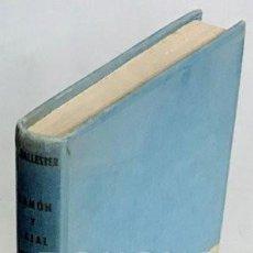 Libros: BALLESTER ESCALAS, RICARDO. SANTIAGO RAMÓN Y CAJAL. Lote 211399991