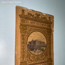 Libros: EL ARTE EN ESPAÑA. REAL PALACIO DE MADRID. Nº 4. EDICION THOMAS.. Lote 211416871