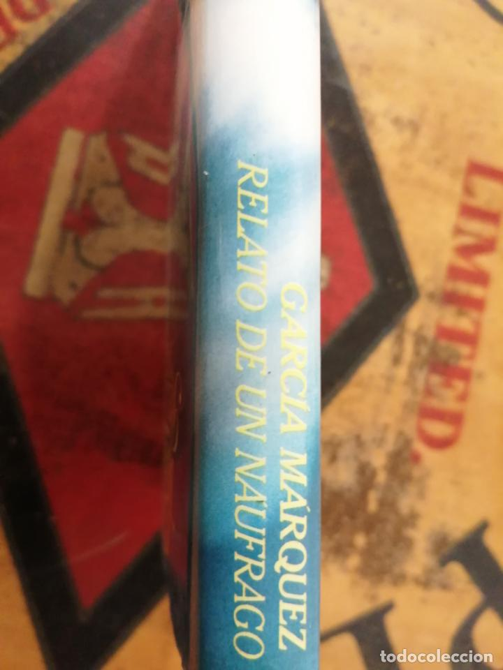 Libros: RELATO DE UN NÁUFRAGO. GABRIEL GARCÍA MARQUEZ. - Foto 2 - 211437552
