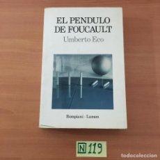 Libros: EL PENDULO DE FOUCAULT. Lote 211444729