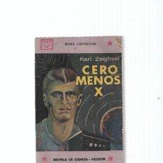 Libros: CENIT: CEROS MENOS X. Lote 211632560