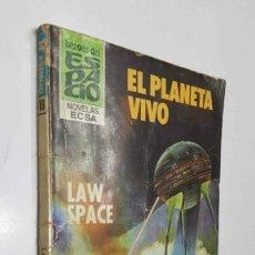 Libros: HEROES DEL ESPACIO NUMERO 18; EL PLANETA VIVO. Lote 211632586