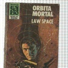Libros: HEROES DEL ESPACIO NUMERO 35: ORBITA MORTAL. Lote 211632610