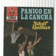 Libros: DOBLE JUEGO NUMERO 37: PANICO EN LA CANCHA. Lote 211632619