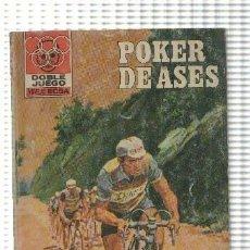 Libros: DOBLE JUEGO NUMERO 39: POKER DE ASES. Lote 211632642