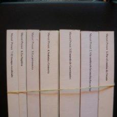 Libros: PROUST, MARCEL - EN BUSCA DEL TIEMPO PERDIDO. OBRA COMPLETA. Lote 211676589