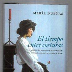 Libros: TIEMPO ENTRE COSTURAS - EL. Lote 211736234