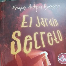 Libros: EL JARDÍN SECRETO. FRANCES HODGSON BURNETT.. Lote 212651088
