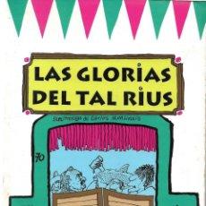 Libros: HUMOR GRÁFICO. EDUARDO DEL RIO ( RIUS ): LAS GLORIAS DEL TAL RIUS. Lote 213459891