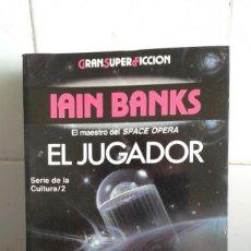 Livres: EL JUGADOR, EL MAESTRO DEL SPACE OPERA, IAIN BANKS. Lote 213488655