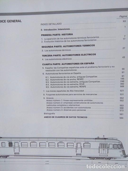 Libros: Automotores españoles (1906-1991) - Javier Aranguren - Foto 3 - 213470886