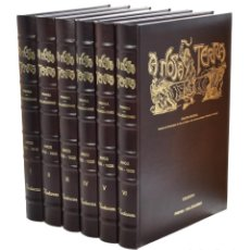 Libros: A NOSA TERRA, I-II-III-IV-V-VI (6 TOMOS) - VV. AA. - GALICIA. Lote 213501102