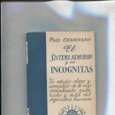 Libros: COLECCION SURCO NUMERO 32: EL SISTEMA NERVIOSO Y SUS INCOGNITAS. Lote 213556060