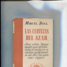 Libros: COLECCION SURCO NUMERO 30: LAS CERTEZAS DEL AZAR. Lote 213556111