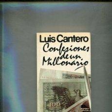 Libros: CONFESIONES DE UN MILLONARIO. Lote 213556210