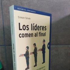 Libros: LOS LÍDERES COMEN AL FINAL: POR QUÉ ALGUNOS EQUIPOS FUNCIONAN Y OTROS NO (GESTIÓN DEL CONOCIMIENTO). Lote 213717627