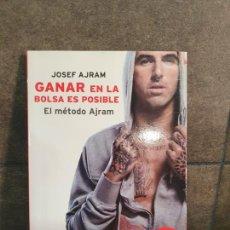 Libros: GANAR EN LA BOLSA ES POSIBLE: EL MÉTODO AJRAM (PLATAFORMA EMPRESA). JOSEF AJRAM.. Lote 213717636