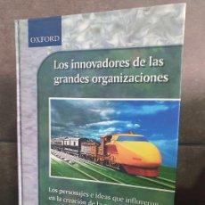 Libros: LOS INNOVADORES DE LAS GRANDES ORGANIZACIONES. Lote 213717658
