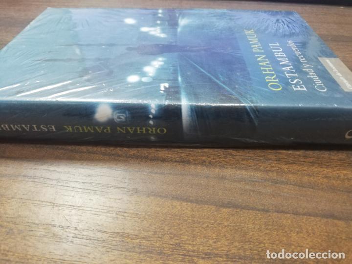 Libros: ESTAMBUL, CIUDAD Y RECUERDOS. ORHAN PAMUK. PRECINTADO SIN ABRIR. NUEVO. - Foto 4 - 213760062