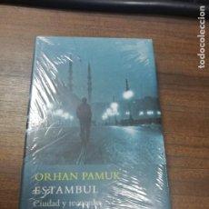 Libros: ESTAMBUL, CIUDAD Y RECUERDOS. ORHAN PAMUK. PRECINTADO SIN ABRIR. NUEVO.. Lote 213760062