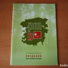 Libros: PLA DE MÀRKETING TURÍSTIC DEL BERGUEDÀ. CAMBRA DE COMERÇ. Lote 213878513