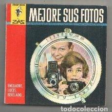 Libros: MARABU ZAS NUMERO 33: MEJORE SUS FOTOS: ENCUADRE, LUCES, REVELADO. Lote 214019846