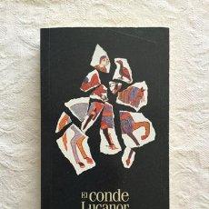 Libros: EL CONDE DE LUCANOR - DON JUAN MANUEL. Lote 214064496